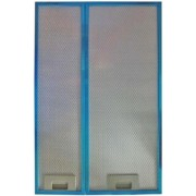 Set filtre aluminiu hota telescopica Heinner AF-440GBK, Compatibila cu modelele HTCH-440G
