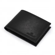 Portofel negru Daniel Klein pentru barbati, din piele naturala, DKW.1026.01