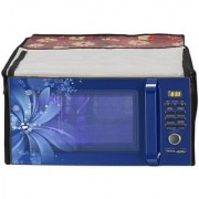 Glassiano Printed Microwave Oven Cover for IFB 20 Litre 20BC4 Model