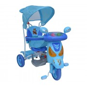Dječji tricikl Motor - plavi