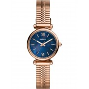 FOSSIL Uhr 'Carlie Mini' rosegold / navy One Size