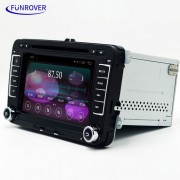 """LV001-3 7 """"Android OEM coches reproductor de DVD para VW Golf? Polo + Mas - Negro"""
