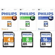 Card memorie SDHC, clasa 4, PHILIPS - 8GB