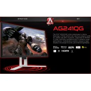AOC 23.8in AG241QG G-SYNC 1MS 165HZ