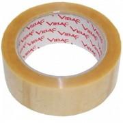 Banda Adeziva VIBAC Solvent, 48mm x 60m, Benzi Transparente pentru Ambalare