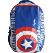Skybags SB Marvel Cap AM 03 Blue 25 L Backpack(Blue)