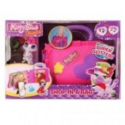 Figurina de catifea Kitty Club - Shop in a bag