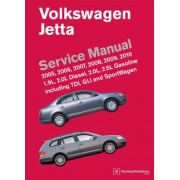 Volkswagen Jetta Service Manual: 2005, 2006, 2007, 2008, 2009, 2010: 1.9L, 2.0L Diesel, 2.0L, 2.5L Gasoline Including TDI, GLI and SportWagen, Hardcover