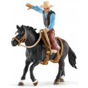 Schleich Saddle Bronc Riding med Cowboy 41416