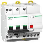 Intrerupator automat cu protectie diferentiala 3P+N 40A 6 kA/30mA C Schneider A9D31740 (SCHNEIDER)