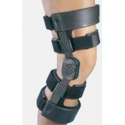 Hinged Knee Brace WeekENDER Medium Hook and Loop Straps 1812 to 21 Inch Circumference Right Knee Qty 1