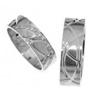 Zlatý snubní prsten Gems Line, 436-0171_0172