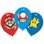 Ballonnen Super Mario full color