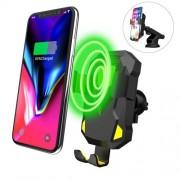Incarcator Qi Wireless Tip Suport Telefon Auto iPhone 8 Plus Incarcare Rapida