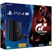 Consola Sony PlayStation 4 Pro 1TB + Gran Turismo Sport (Negru)