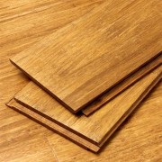 Mocha Bamboo Wood Flooring Wide Click Lock Sample