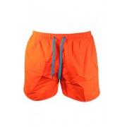 Max - plavky chlapecké šortkové 13-14 let oranžová zářivá