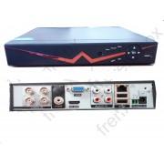 DVR 4 canali AHD 750p 1080p icloud HDMI Videosorveglianza su smartphone