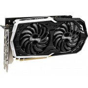 Видеокарта MSI GeForce GTX 1660 Ti 1500Mhz PCI-E 3.0 6144Mb 12000Mhz 192 bit 3xDP HDMI GTX 1660 Ti Armor 6G OC