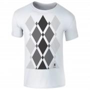 T-Junkie Trainspotting 2 Begbie Grijs Patroon Heren T-Shirt - Wit - XL - Wit