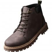 Zapatos Botas De Martin Para Hombre 360DSC-marrón