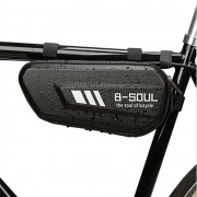 B-SOUL Cycling Bicycle Bags Waterproof Bicycle Triangle Pannier Bike Bag Upper Pipe Saddle Bags