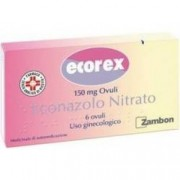Zambon Ecorex 150 mg - infezioni vulvovaginali da Candida 6 ovuli vaginali