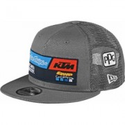 Troy Lee Designs Team KTM Cap Grigio unica taglia