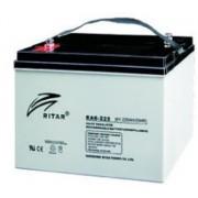 RA6-225 6V 225 Ah Zárt ólomzselés akkumulátor (RITAR)