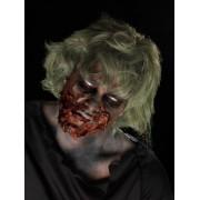 Kit machiaj Halloween zombie cu latex lichid