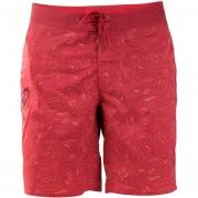 Short Hombre Shark Boardshort - Rojo Oscuro - Lippi
