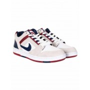 Nike SB Air Force II Low Trainers - White/Blue Void/Red Crush Colour: