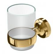 Geesa Tone Gold glashouder met glas goud