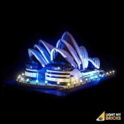 LIGHT MY BRICKS Kit for 10234 Sydney Opera House