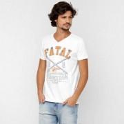 Camiseta Fatal Estampada - Masculino