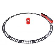 Little Treasures Remote Control Battery Operated Amtrak Passengers Transport Train Toy with Playing Tracks and Hours of Fun for Your Little Conductor Good Gift Idea for Children