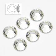 Cristale unghii Argintii 50 buc