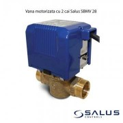 Vana motorizata cu 2 cai Salus SBMV 28. 5 ani garantie