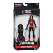 Figurina Hasbro Build A Figure Marvel Spider-man Legends Series Spider-woman Action Figure 15cm
