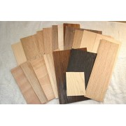 Stockton-Modeller Wood Veneer Offcuts (250G) for Marquetry Work, Various Woods and Sizes