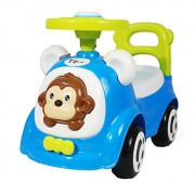 Toyhouse Happy Jagoo's Funky Push Car, Blue