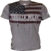 Gorilla Wear USA Flag Tee - S