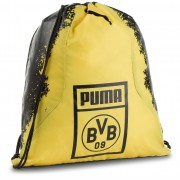Раница PUMA - Bvb Fan Gym Sack 075568 01 Puma Black/Cyber Yellow