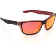 Invu Wayfarer Sunglasses(Orange, Yellow)
