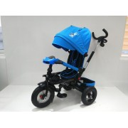Tricicleta copii cu sezut reversibil Jockey Albastru
