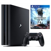 Consola Sony PlayStation 4 Pro - 1TB Star Wars: Battlefront Bundle