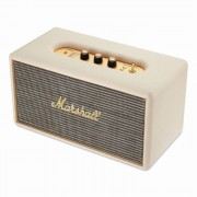 Marshall Stanmore Cream - безжичен аудиофилски спийкър за iPhone, iPod и iPad и мобилни устройства с Bluetooth (кремав)