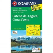 62damrak Kompass Wk626 Catena Del Lagorai Cima D Asta