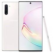 "Samsung Galaxy Note 10 N9700/DS 256GB, Snapdragon 6.3"" Dual Sim LTE, 8GB RAM, Libre de Fabrica (Version Internacional) Aura White"