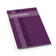 Studentendrukwerk Samenvatting A4 softcover staand printen en inbinden